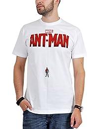 Ant-Men - T-shirt Homme-Fourmi super-héros Marvel coton sous licence blanc