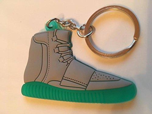 Preisvergleich Produktbild Adidas Yeezy 750 Boost Schlüsselanhänger Grau-Grün Sneaker Keychain Grey