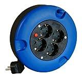 Kopp 221115006 Kabelbox 5 m, blau/schwarz