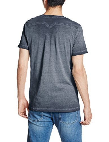 Diesel Herren T-Shirt T-Diego-Pearls Midnight Blue