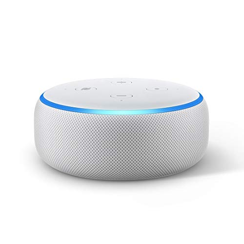 Echo Dot (3rd Gen) - New and improved smart speaker with Alexa (White)