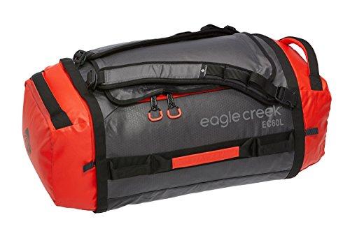 Reisetasche Cargo Hauler Duffel, 60 L, Rot/ Grau