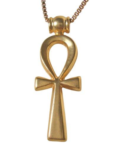 Collar con Colgante Anj diseño de cruz