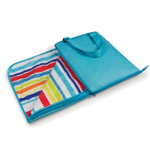 picnic-time-vista-outdoor-picnic-blanket-tote-aqua-with-fun-stripes-by-picnic-time