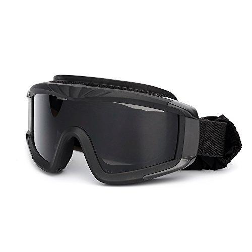 KKmoon Airsoft Goggles Schießen Gläser Motorrad Winddicht Wargame Brille -