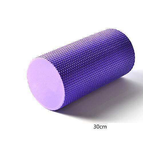 Aoacd rullo muscolare, superior massage muscle roller - trigger point (14.5cm x 30 cm) perfetto strumento di automassaggio per la casa, palestra, pilates, yoga,purple