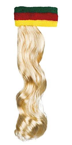 Boland 85995 Haarband mit Haaren, mens, One Size