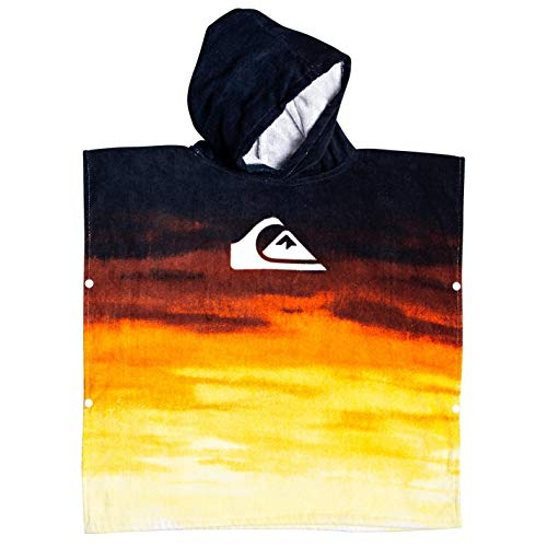 Quiksilver Kids Hoody Towel/Changing Robe Tiger Orange