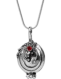 Ginie'sWishKart Necklace Jewelry Vampire Diaries With Verbena Necklace In Silver Color 2.2 * 4.1cm 17.4g