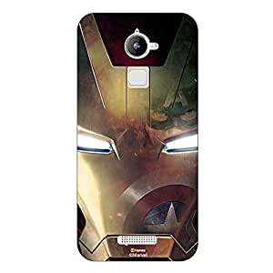 Hamee Marvel Civil War Captain America Iron Man Licensed Hard Back Case Cover For Coolpad Note Three Lite / Cool Pad Note 3 Lite Cover - Design 16