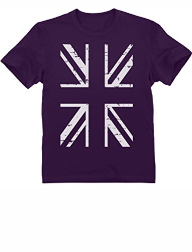 United Kingdom British England Flag Vintage Style World Cup Football Soccer Kids T-Shirt