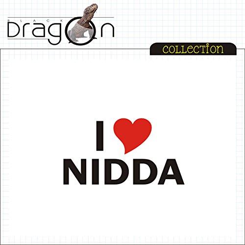 T-Shirt - i Love Nidda - Herren - unisex Weiß