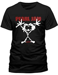 Pearl Jam Men's Stick Man Short Sleeve T-Shirt