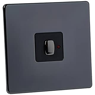 Energenie MIHO024 Mi|Home Light Switch - Black Nickel