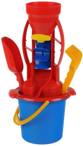 klein-2001-jeu-de-plein-air-set-de-sable-avec-seau-et-moulin-8-pices