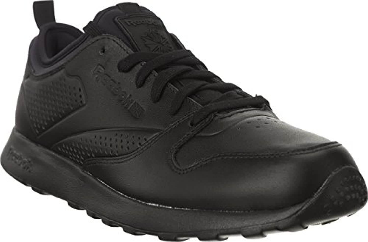 Reebok Cl Leather Lite Herren Sneaker Schwarz