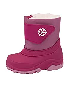 Toddlers Boing Snow Boots - Fuchsia
