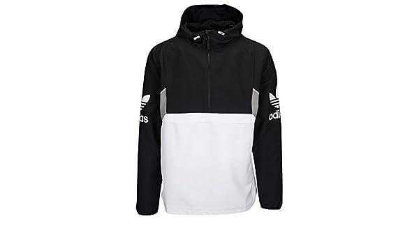 adidas Men's Originals Teorado Over The Head Jacket Black