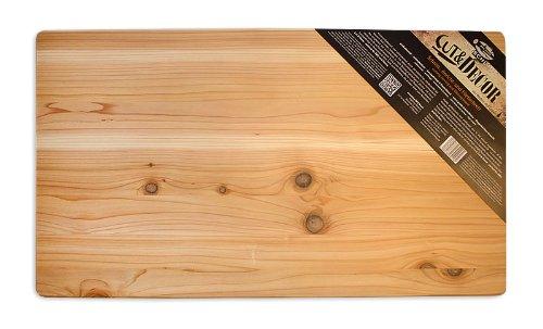 Axtschlag Arbeits - & Anrichtbrett, Western Red Cedar, Holz, 700 x 400 x 25 mm