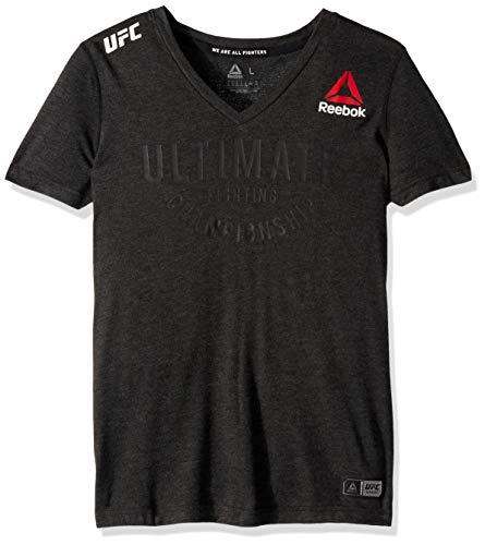 Reebok UFC Damen Ultimate Jersey, Damen, Ultimate Jersey, schwarz, X-Large Adidas Warm Ups