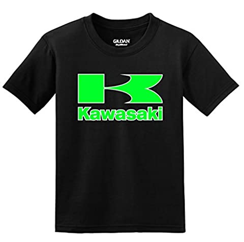 Kawasaki with Sleeve T-shirt, XX-Large