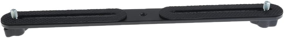 Aspiredeal Dual Flash Bracket Holder for 1/4'' Studio Tripod Light Stand DSLR Camera