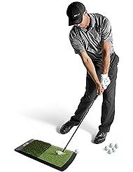 SKLZ Launch Pad - Alfombrilla de césped sintético de golf