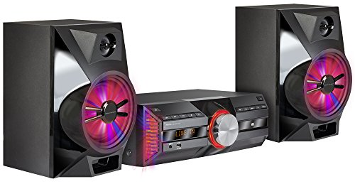 Mac Audio MPS 701 | DAB+ Kompaktanlage | 720 Watt High-Power Hifi-System mit DAB+, Bluetooth, USB, CD, AUX, RDS | LED Light Show - schwarz High Power Usb