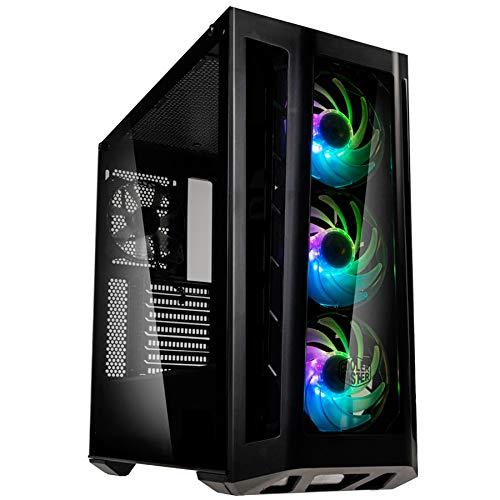 Sedatech PC Gaming Watercooling AMD Ryzen 7 3800X 8x 3.9Ghz, Geforce RTX 2070 8Gb, 32Gb RAM DDR4, 500Gb SSD NVMe 970 Evo, 3Tb HDD, USB 3.1, Wifi, Bluetooth. Computer Desktop, senza OS