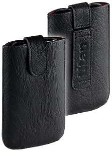 yayago Titan Leder Tasche mit EasyOut Funktion, Ledertasche für Nokia Lumia 630 / 630 Dual Sim / Lumia 635