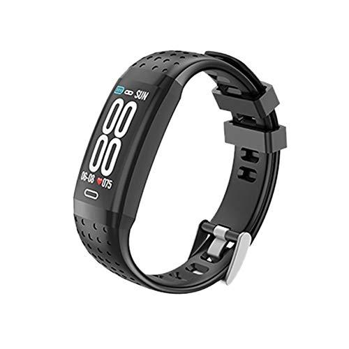 Fitness Smart Watch - Inseguitore di attività impermeabile con sfigmomanometro a frequenza cardiaca, conta calorie con schermo a colori Smart bracciale, orologio a pedometro per bambini Donna Uomo