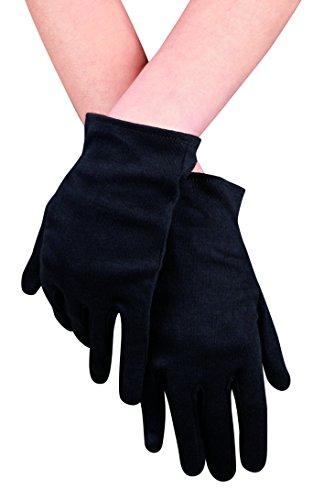 Boland 03070 - Handschuhe Basic, Einheitsgröße, schwarz