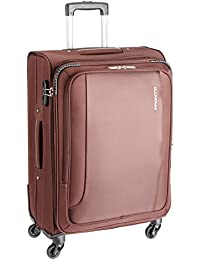 PRONTO SPACE + Polyester 67 cms Coffee Soft Sided Suitcase (6505 - CF)