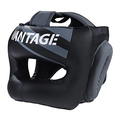 Vantage Kopfschutz Combat Face Saver mit Bügel Kopfschutz MMA Boxen Kickboxen Muay Thai