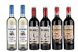 Gourmet Père & Fils Languedoc-Roussillon Coffret Cadeau Vin 6 x 75 cl