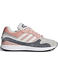 adidas Ultra Tech Mens in Trace Pink/Crystal White, 12