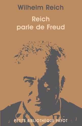 Reich parle de Freud
