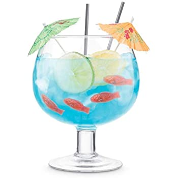 1.7ltrSuper Stem Giant Cocktail Glass Giant Footed Compote Glass 60oz