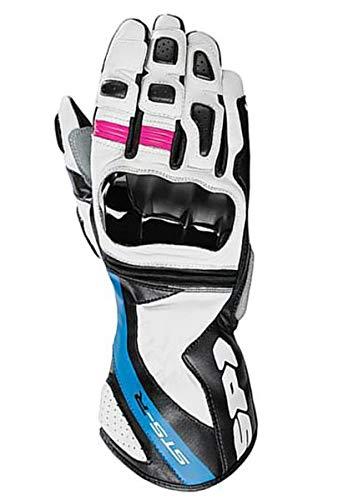 Moto motocicleta Spidi que sts-r Lady piel guantes deportes carrera estilo Protector...