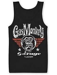 Mercancía Con Licencia Oficial Gas Monkey Garage Flying High Chaleco sin Mangas