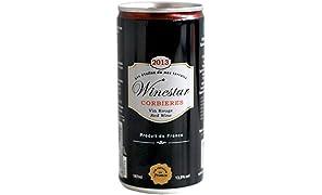 Winestar Vin rouge Corbières AOC - un carton 24 canettes x 187 ml