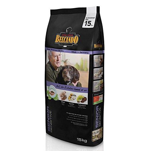 Belcando Senior Sensitive [15 kg] Hundefutter | Trockenfutter für ältere & empfindliche Hunde | Alleinfuttermittel für ältere Hunde Aller Rassen