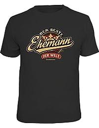 Original RAHMENLOS® Geschenk T-Shirt zum Hochzeitstag: Der beste Ehemann der Welt