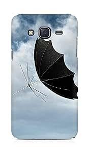 Amez designer printed 3d premium high quality back case cover for Samsung Galaxy J5 (Umbrella)