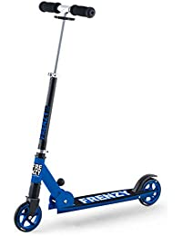 Frenzy 125mm Recreational Scooter - Black / Blue