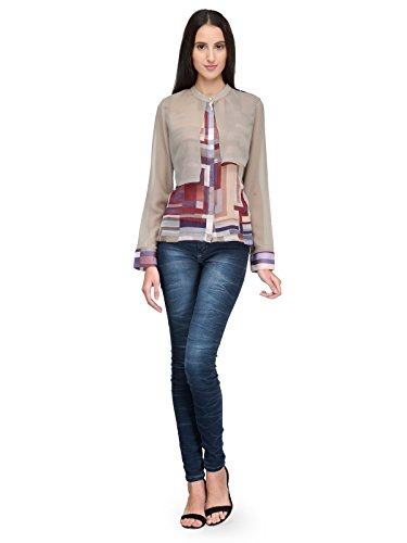 Tunic Nation Women Chinese Collar Top