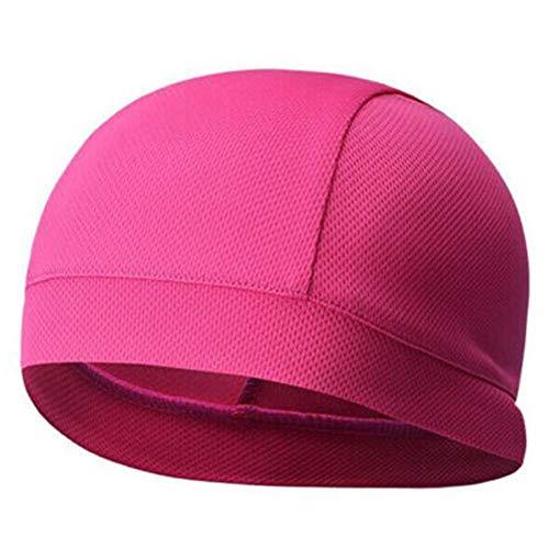 Honsin 1 Stück Feuchtigkeitstransport Kühlkappe Inner Liner Helm Beanie Dome Schnelltrocknende Kappe Schweißband -