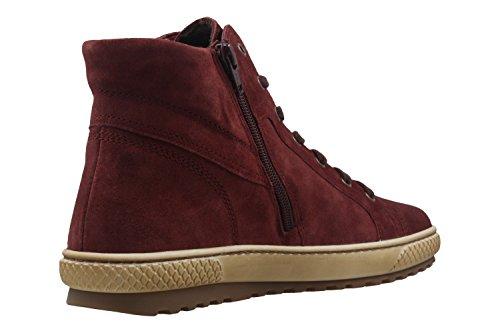Gabor  53.754.15, Chaussures de ville à lacets pour femme Rouge