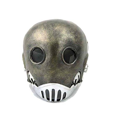lay Kostüm Erwachsene Schrecklich Stil Harz Helm Fancy Dress Stütze für Herren (Hellboy Halloween-kostüm)