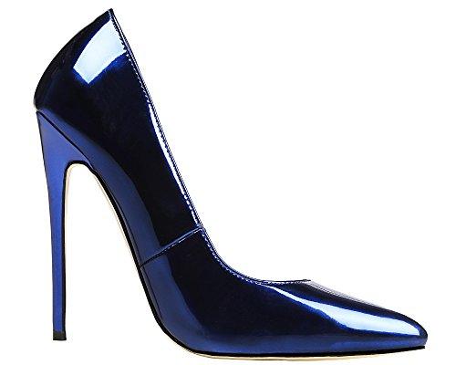 MONICOCO , Coupe fermées femme Bleu - Bleu